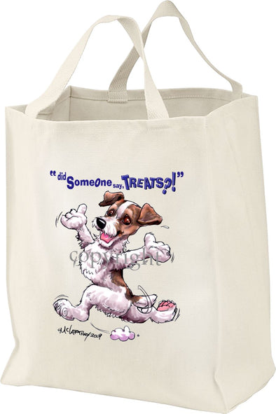 Jack Russell Terrier - Treats - Tote Bag
