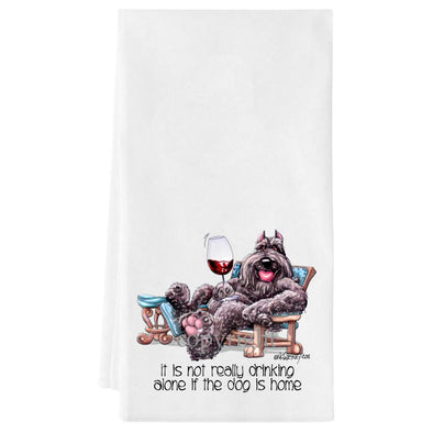 Bouvier Des Flandres - It's Not Drinking Alone - Towel