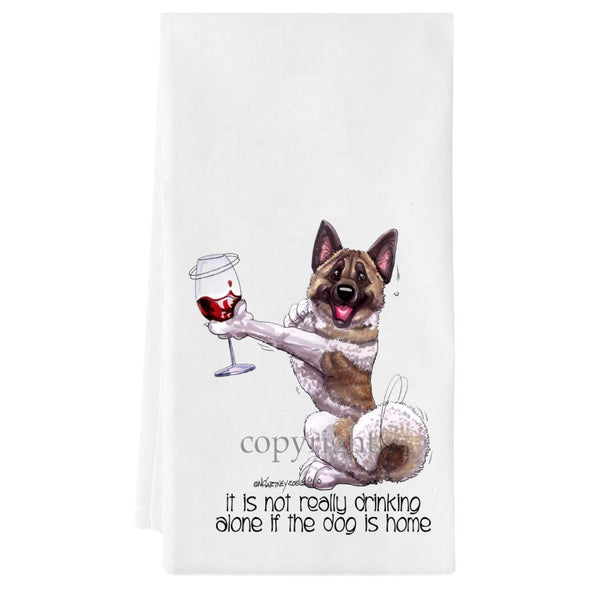 Akita - It's Not Drinking Alone - Towel
