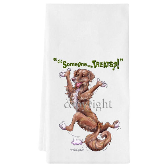 Nova Scotia Duck Tolling Retriever - Treats - Towel