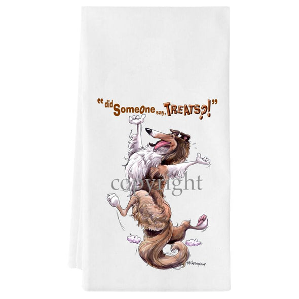 Collie - Treats - Towel