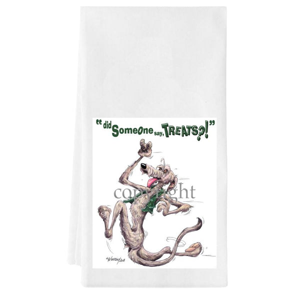 Irish Wolfhound - Treats - Towel