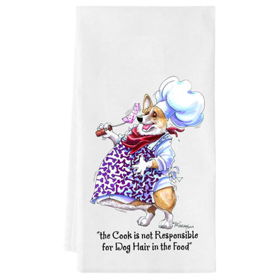 Welsh Corgi Pembroke - Fat Chefs - Towel