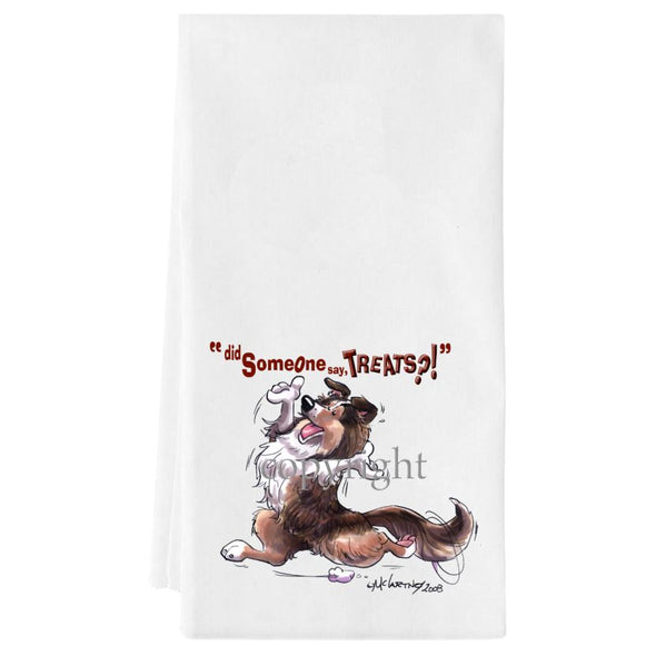 Shetland Sheepdog - Treats - Towel