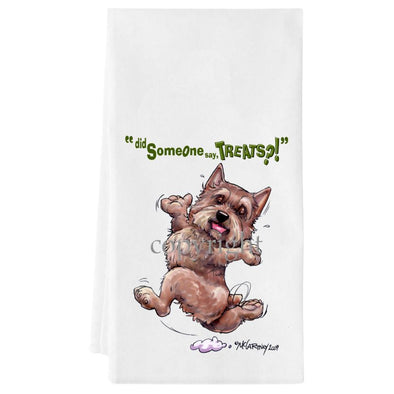Norwich Terrier - Treats - Towel