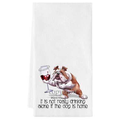 Bulldog - It's Not Drinking Alone - Towel