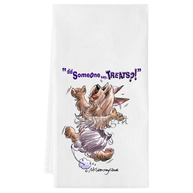 Silky Terrier - Treats - Towel