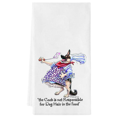 German Shepherd - Fat Chefs - Towel
