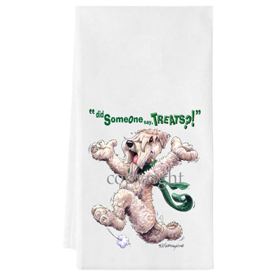 Soft Coated Wheaten - Treats - Towel
