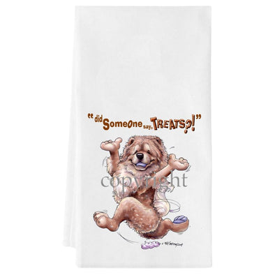 Chow Chow - Treats - Towel