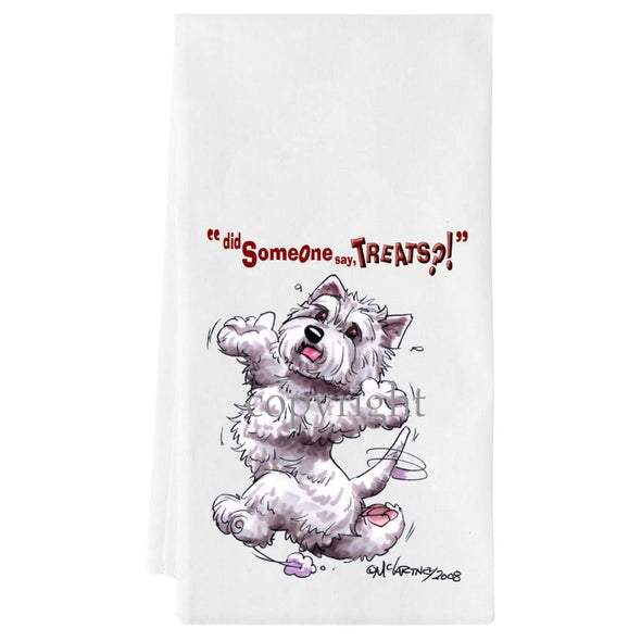 West Highland Terrier - Treats - Towel
