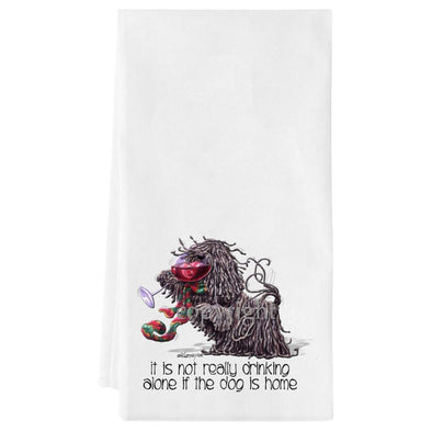 Puli - It's Not Drinking Alone - Towel