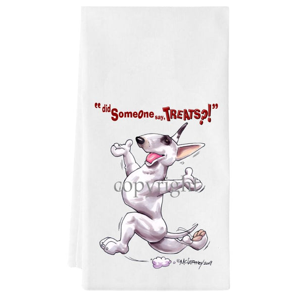 Bull Terrier - Treats - Towel