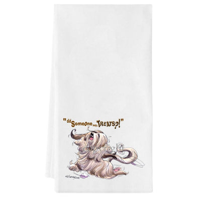 Lhasa Apso - Treats - Towel