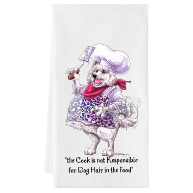Samoyed - Fat Chefs - Towel