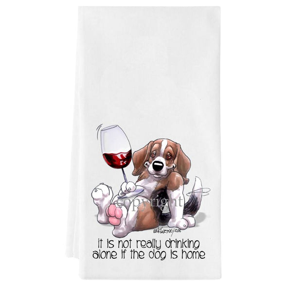 Beagle - It's Not Drinking Alone - Towel