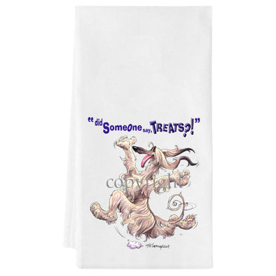 Afghan Hound - Treats - Towel