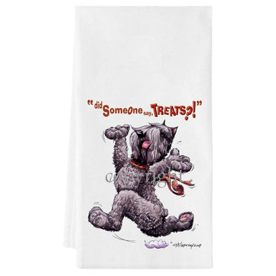 Bouvier Des Flandres - Treats - Towel