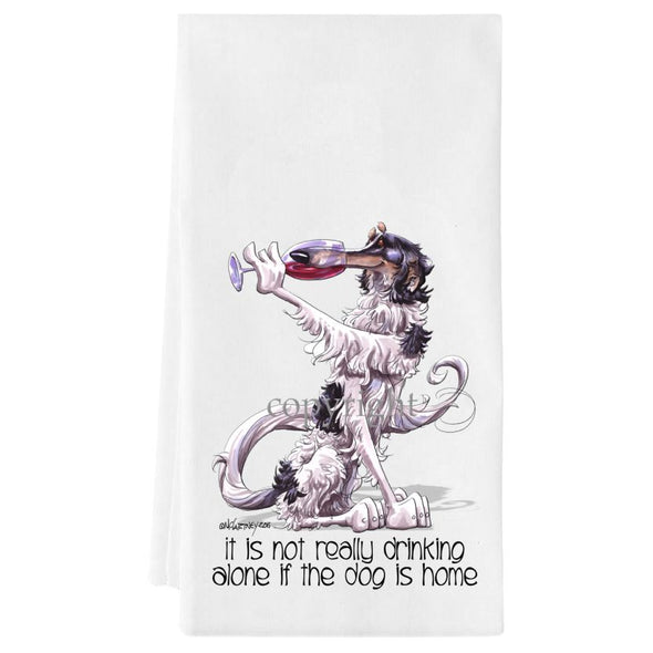 Borzoi - It's Not Drinking Alone - Towel