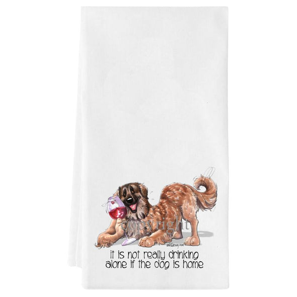 Leonberger - It's Not Drinking Alone - Towel