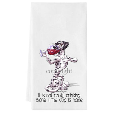 Dalmatian - It's Not Drinking Alone - Towel