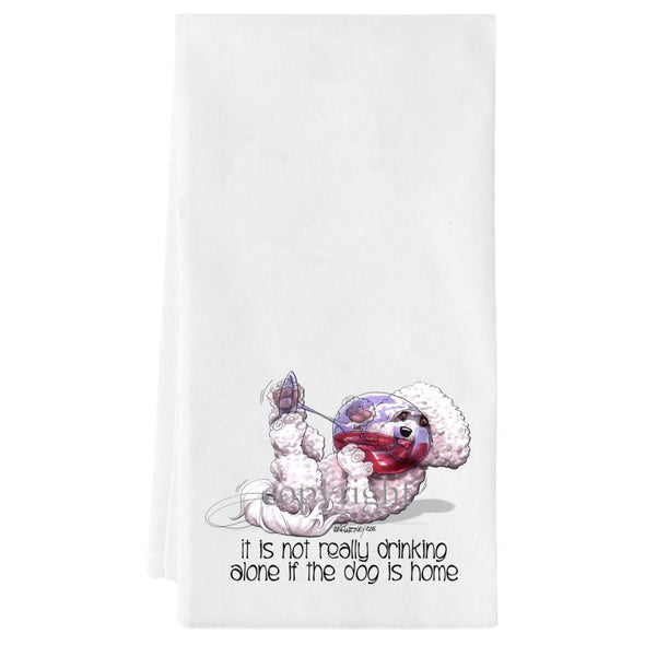 Bichon Frise - It's Not Drinking Alone - Towel