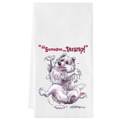 American Eskimo Dog - Treats - Towel