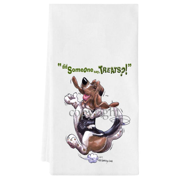 Basset Hound - Treats - Towel