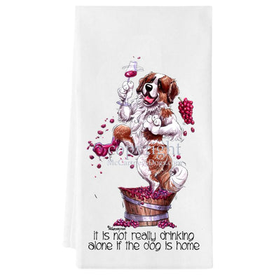 Saint Bernard - It's Not Drinking Alone - Towel