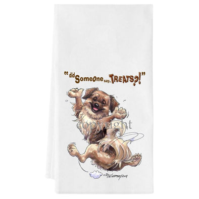 Tibetan Spaniel - Treats - Towel