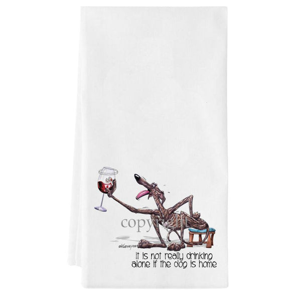 Greyhound - It's Not Drinking Alone - Towel