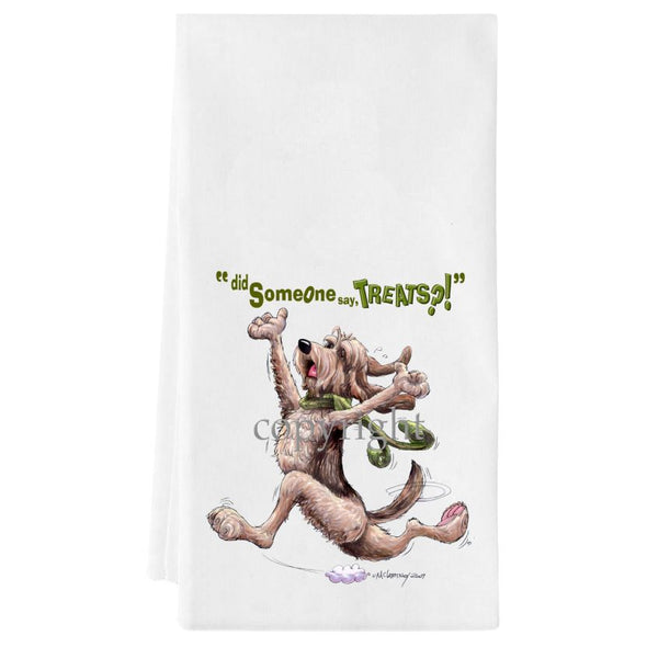 Otterhound - Treats - Towel