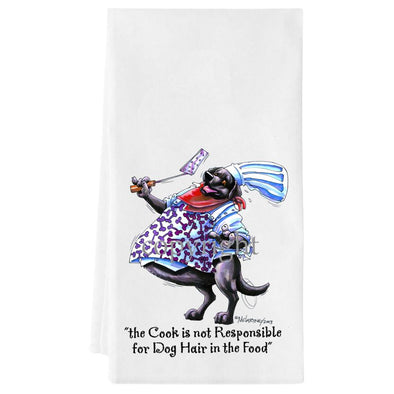 Labrador Retriever  Black - Fat Chefs - Towel