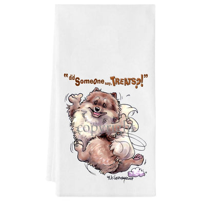 Pomeranian - Treats - Towel