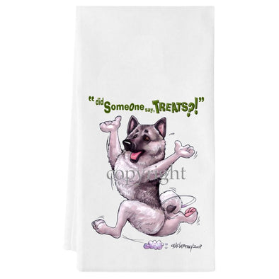 Norwegian Elkhound - Treats - Towel