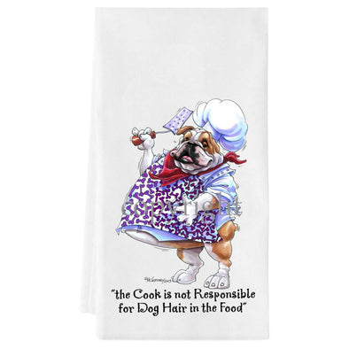 Bulldog - Fat Chefs - Towel