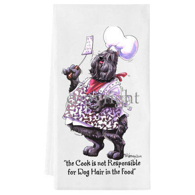 Bouvier Des Flandres - Fat Chefs - Towel