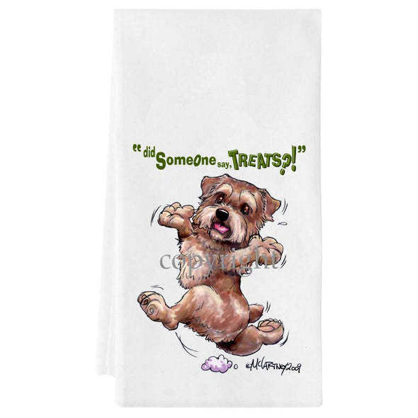 Norfolk Terrier - Treats - Towel