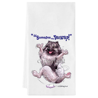 Keeshond - Treats - Towel