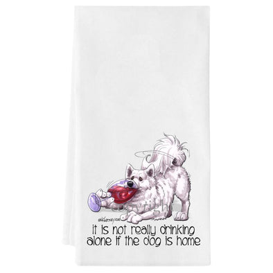 Samoyed - It's Not Drinking Alone - Towel