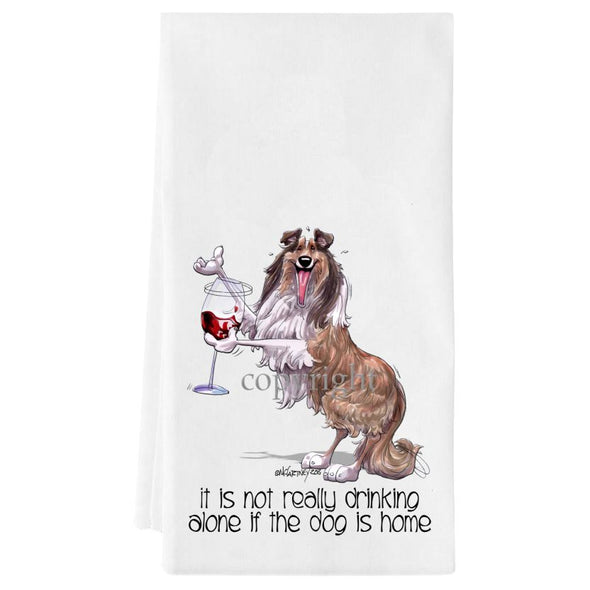 Collie - It's Not Drinking Alone - Towel