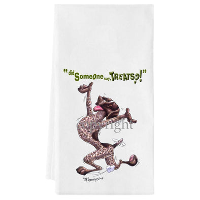 German Shorthaired Pointer - Treats - Towel