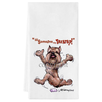 Brussels Griffon - Treats - Towel