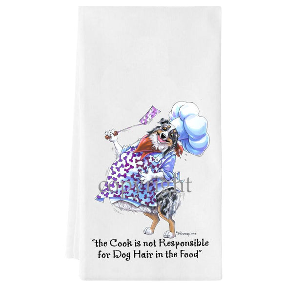 Australian Shepherd  Blue Merle - Fat Chefs - Towel