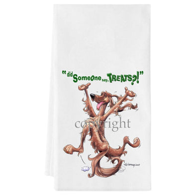 Irish Setter - Treats - Towel