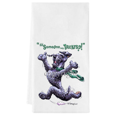 Kerry Blue Terrier - Treats - Towel