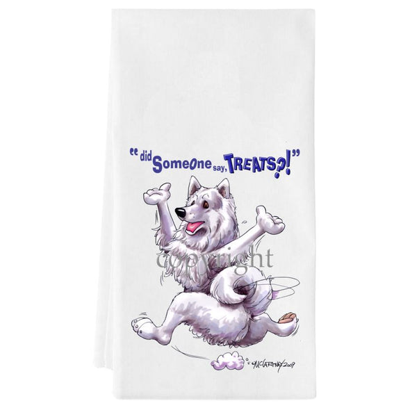 Samoyed - Treats - Towel