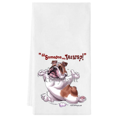 Bulldog - Treats - Towel