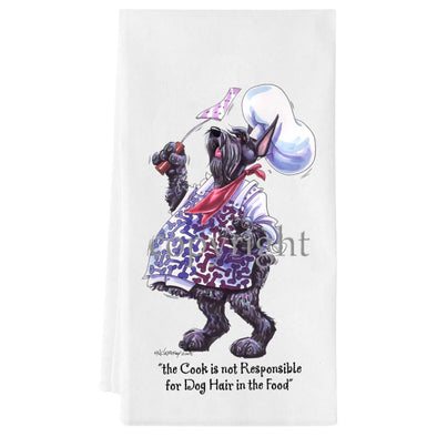Giant Schnauzer - Fat Chefs - Towel