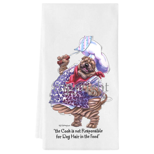 Shar Pei - Fat Chefs - Towel